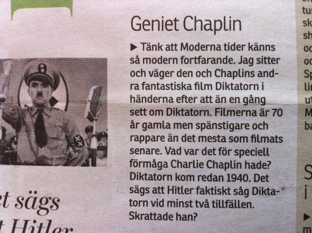 Geniet Chaplin