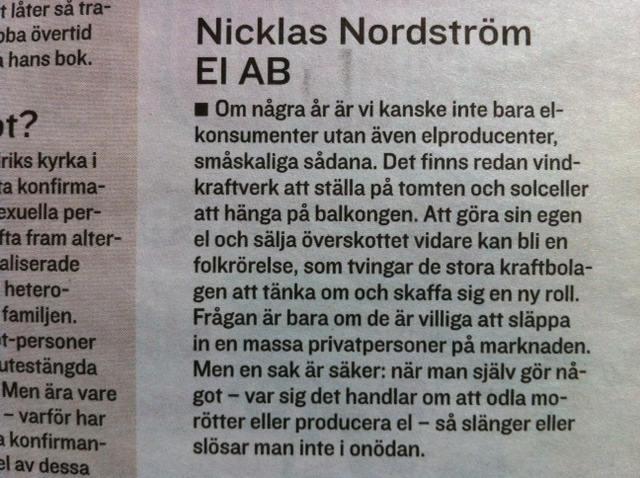 Nicklas Nordström El AB