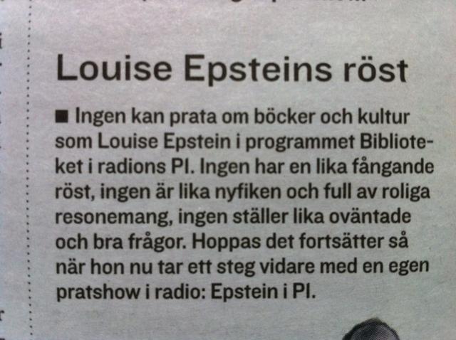 Louise Epsteins röst