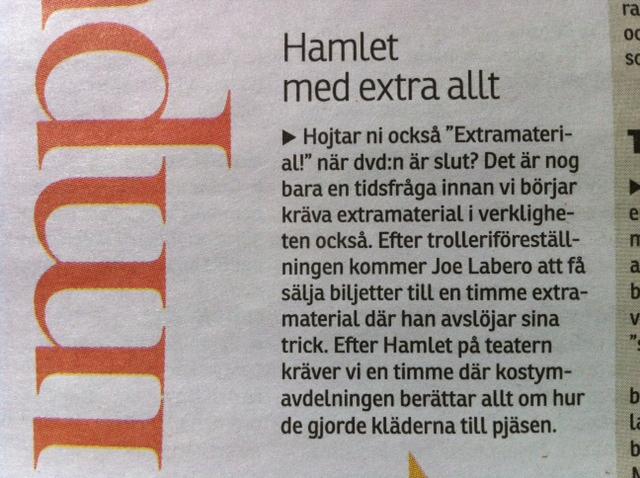 Hamlet med extra allt