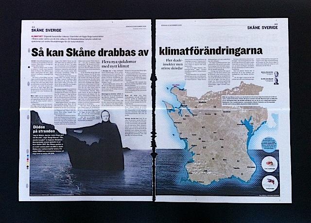 Så kan klimatförändringarna påverka Skåne