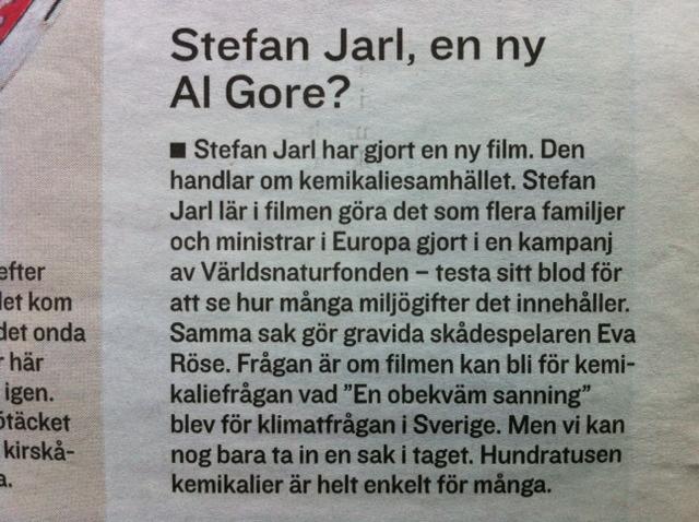 Stefan Jarl, en ny Al Gore?