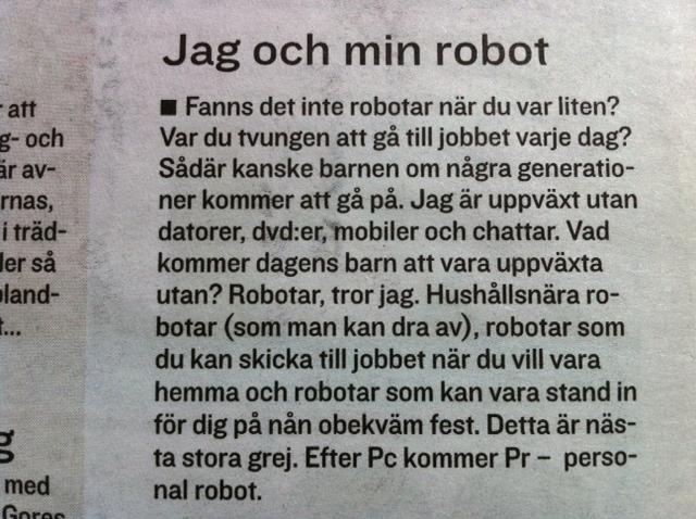 Jag och min robot